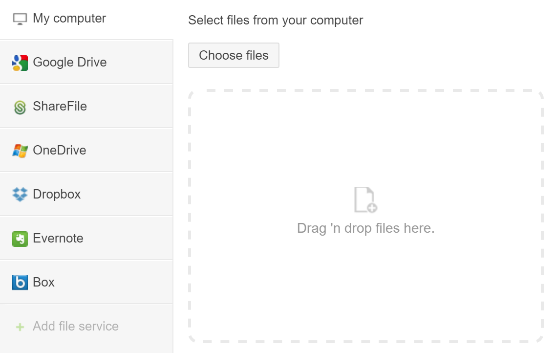 Adding Files To Your Apps Podio Help Centre