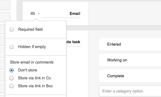 The fields in app templates – Podio Help Centre
