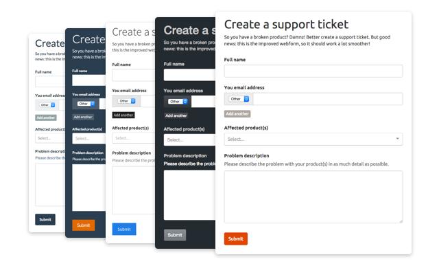Webforms – Podio Help Centre